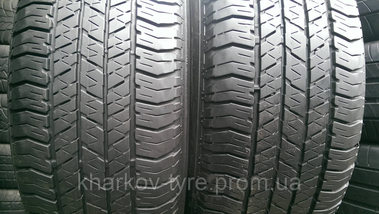 Шины летние б\у 275\60-18 Bridgestone Dueler HP684