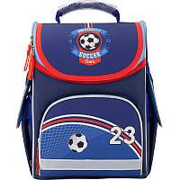 Рюкзак школьный каркасный для мальчика GoPack GO17-5001S-10 Kite