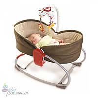Кресло-кроватка-качалка 3в1 Tiny Love Мамина любовь Brown