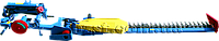 Косилка пальцевая навесная КПН-2,1