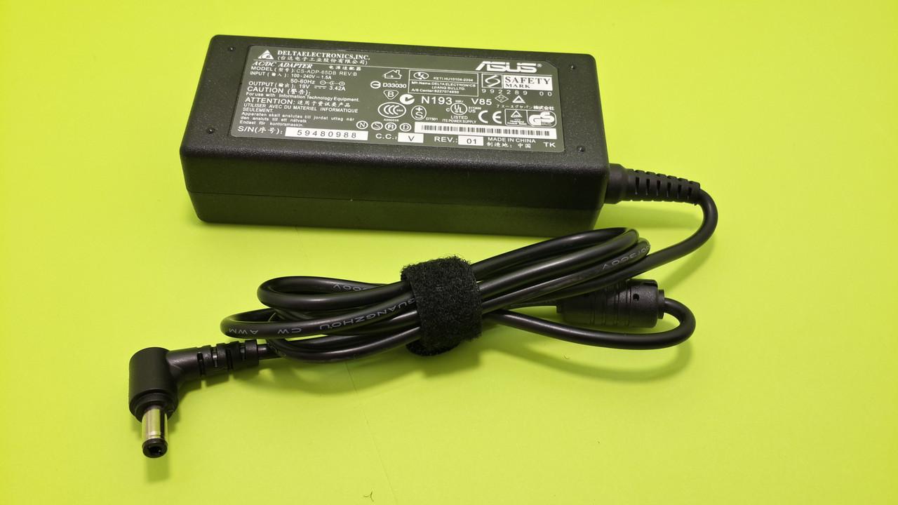 """Зарядное устройство для ноутбука Asus Vivobook F450CC 19V 3.42A 5.5*2.5mm 65W - Интернет-магазин """"MyDevise"""" в Днепре"""