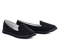 Детская обувь оптом. Туфли нарядные для девочек от фирмы Башили G66-1 (8пар, 30-36)