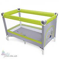 Манеж кровать Baby Design Simple New Green 04
