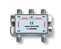 Разветвитель на 4 выходa 5-2300Mhz AIO-T046