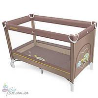 Манеж кровать Baby Design Simple New Beige 09