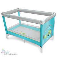 Манеж кровать Baby Design Simple New Turquoise 05