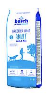 Бридер Эдалт ягненок+рис 20кг, сухой корм для взрослых собак, Бош