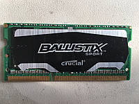 Память Crucial Ballistix 4Gb So-DIMM CL9 PC3L-12800S DDR3-1600 1.35v (BLS4G3N169ES4.16FER2)
