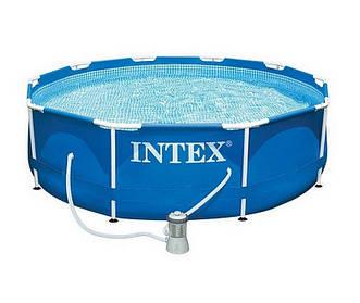 Intex 28202 Бассейн Каркасный с фильтр-насосом 220V (305х76см)