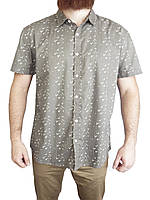 Мужская рубашка Cedar Wood State (сток, б/у) с коротким рукавом, с ласточками, с птицами