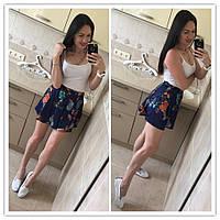 Женская модная юбка-шорты