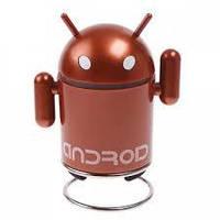 УЦЕНКА !!! Портативная колонка Android Robot TF, MicroSD, радио, FM