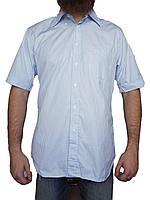 Мужская рубашка Burberry (сток, б/у) с коротким рукавом, барбери