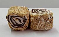Султан с шоколадом обваленный в крошке грецкого ореха