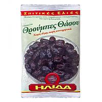Оливки вяленые Тассос в оливковом масле, фольга, 200 г