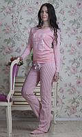 Домашняя одежда женская_Пижамы женские_Комплект для женщины 505/L/розовый в наличии L р., также есть: 52,L,M,S,XL,XXL, Роксана_ЦС