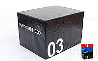 Бокс плиометрический мягкий (1шт)  SOFT PLYOMETRIC BOXES