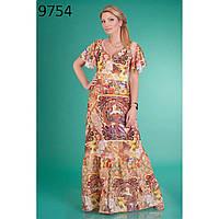Романтическое платье, легко струящееся по фигуре