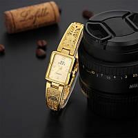 Женские ажурные часы-браслет Soxy (Gold)