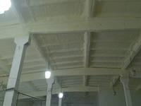 Пенополиуретан - теплоизоляция напылением стен и перекрытий зданий. Пінополіуретан, фото 1