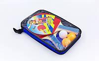 Набор для настольного тенниса 2 ракетки, 3 мяча с чехлом Macical (древесина, резина, пластик)