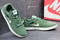 Мужские кроссовки Nike Air max SB зеленые 2550