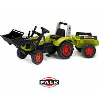 Детский трактор на педалях Falk 1040M Claas Arion
