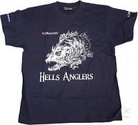 Футболка Dragon Hells Anglers Судак /синя/ S