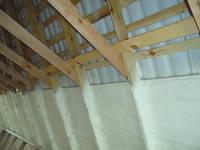 Напыление ППУ. Внешняя и внутренняя теплоизоляция сводов сооружений и зданий пенополиуретаном