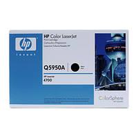 Q5950A (643A) черный картридж для HP для CLJ 4700