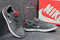 Мужские кроссовки Nike Air max SB серые 2553