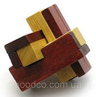 Оригинальный подарок - головоломка деревянная