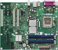 Материнская плата Intel DQ963FX Q963, s775 б/у
