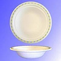Тарелка бумажная суповая 400 мл Chinet Мозаика 125 шт/уп