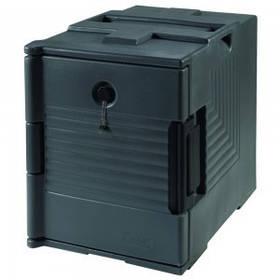Изотермический переносной контейнер для транспортировки пищи со съемной дверцей, 47х67х60см