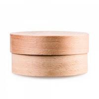 Коробка деревяная круглая средняя д.120 мм в.60мм
