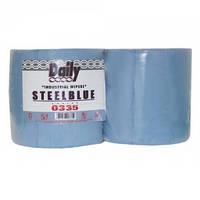 Протирочное полотно голубое с перфорацией 3 слоя 26х38 см 500 отрывов шт