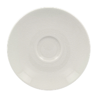 Блюдце под чашку 200 мл, диаметр 15 см, белое, Vintage