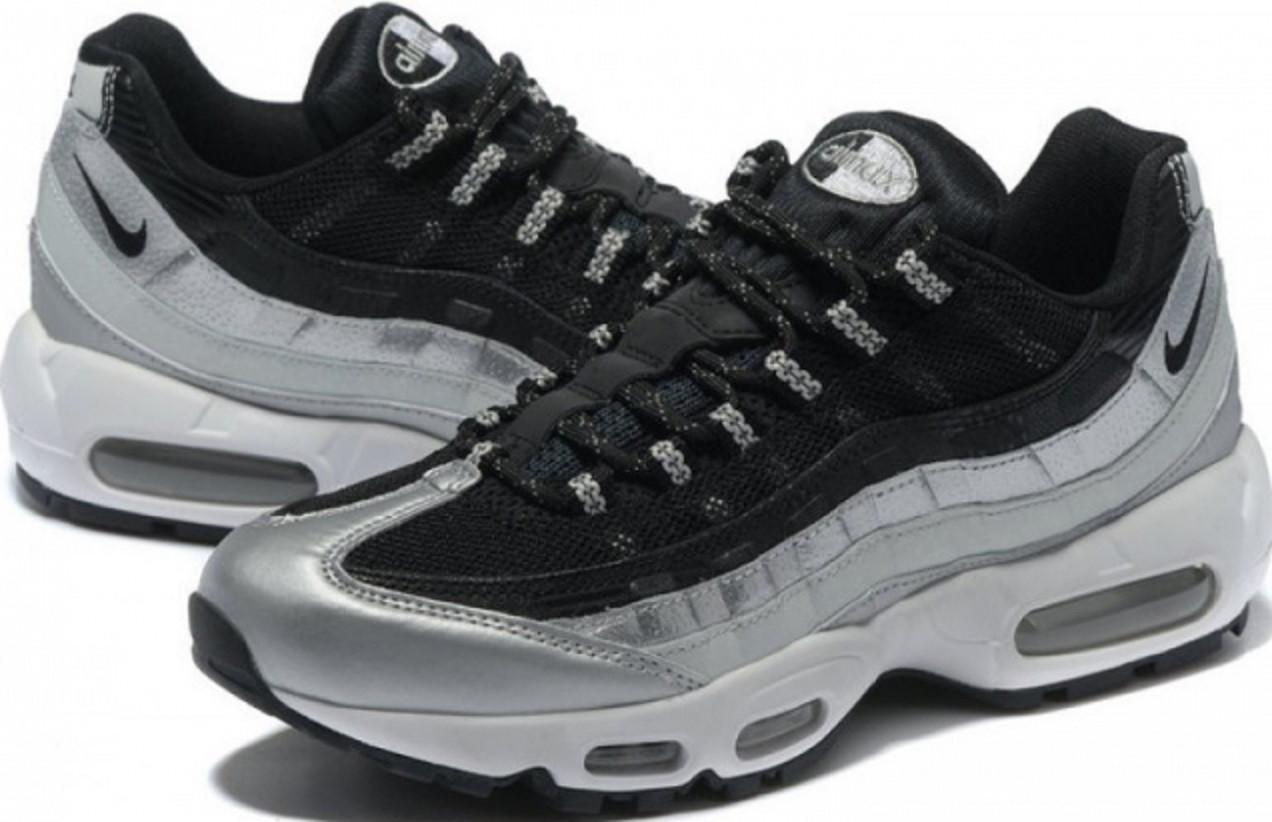 671cca9a Купить кроссовки найк мужские Nike Air Max 95 Black/Grey от магазина  tehnolyuks.prom
