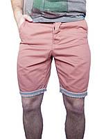 Мужские шорты Next р-р 30 (сток, б/у) чино, чиносы, с отворотом
