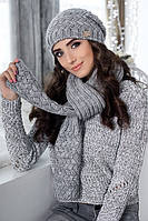 Комплект «Диадема» (шапка и шарф)
