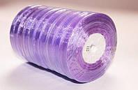 Лента органза фиолетовая: ширина 0.6 см, длина 45 м, цена 24 грн