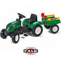 Педальный трактор FALK 2052C с прицепом