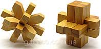 Деревянный сувенир - головоломка
