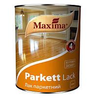 Лак паркетный полуматовый МАКСИМА 0,75л