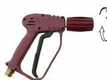 Пистолет Idrobase Black 25 с быстросъёмом KW-мама