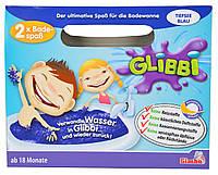 Снег для ванной Глибби синий Glibbi Glitter
