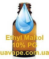 Усилитель ароматизатора вкуса Этилмальтол 10% раствор, Baker Flavors (50 мл)
