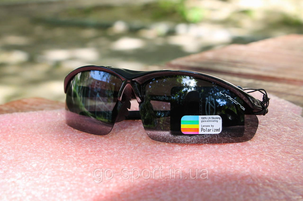 Велосипедные очки Luxing с защитой от ультрафиолета + с поляризационным покрытием
