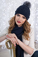 Комплект «Сабрина» (шапка и шарф)
